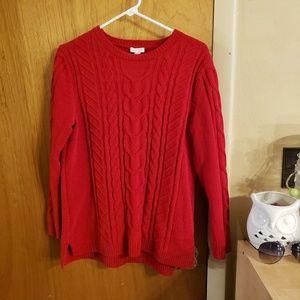 J. Jill chenille soft sweater